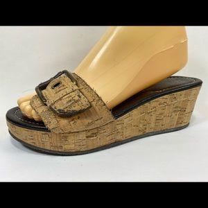 Donald Pliner Suze Slide Wedge Sandals Women's 7M